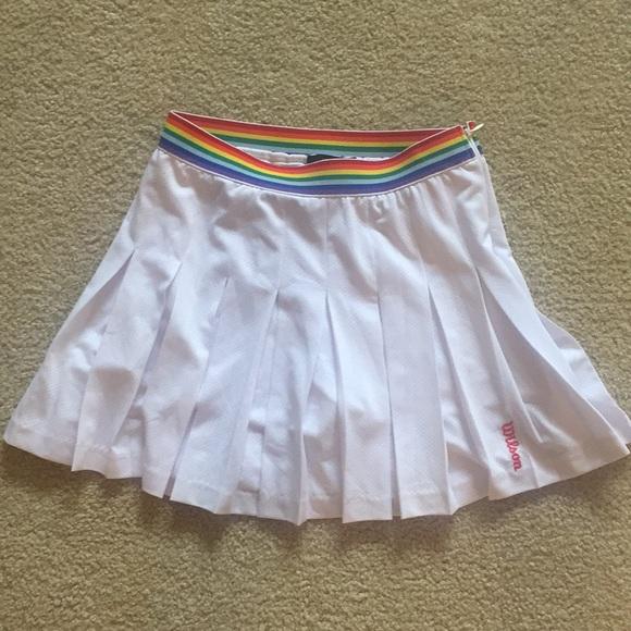2df876fe79e Forever 21 Dresses   Skirts - Forever 21 x Wilson Pleated Tennis Skort